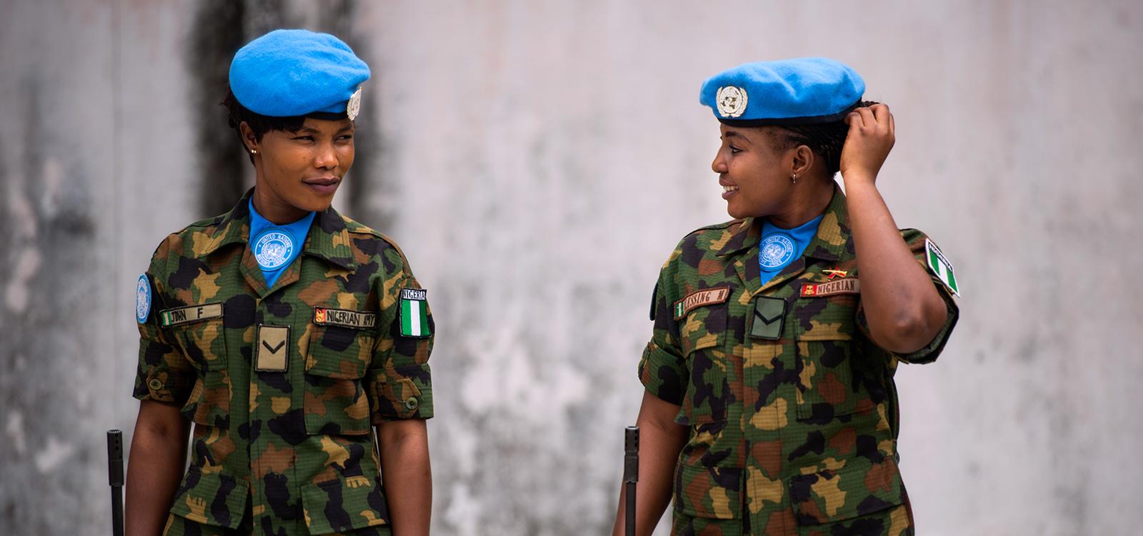 UNMIL troops withdrawal