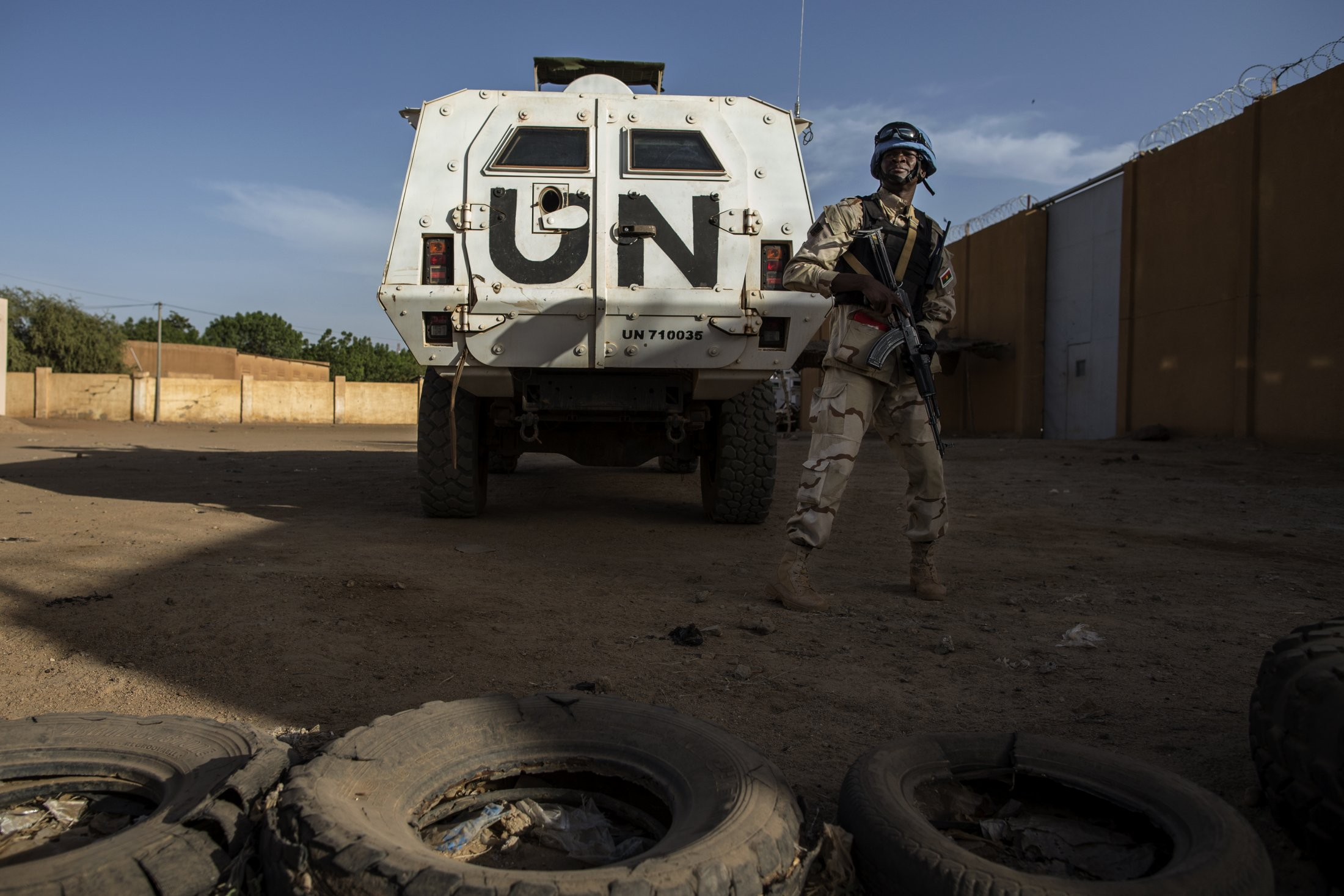 UNPOL and Malian National Guard on Joint Patrol in Gao