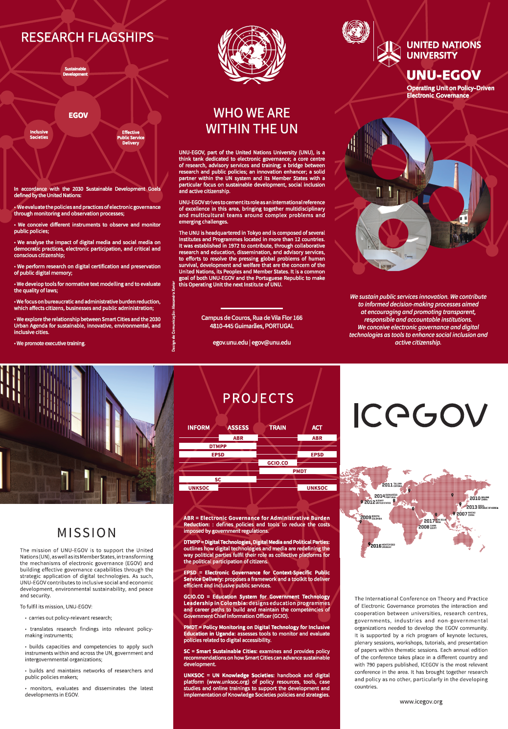 UNU-EGOV Leaflet - English