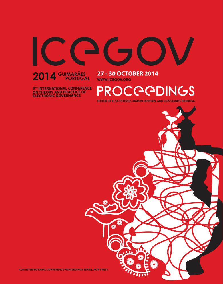 ICEGOV2014 Proceedings Cover