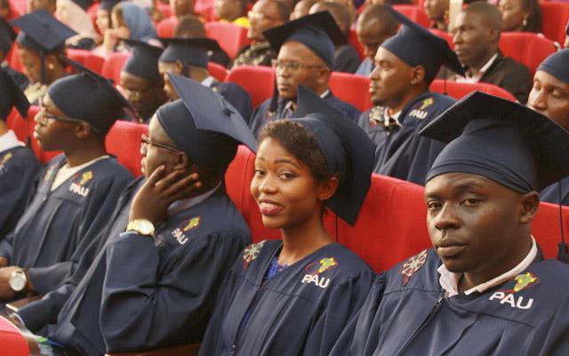 Graduates at the PAUWES ceremony in Tlemcen, Algeria. Photo: Margaret Koli for UNU-EHS