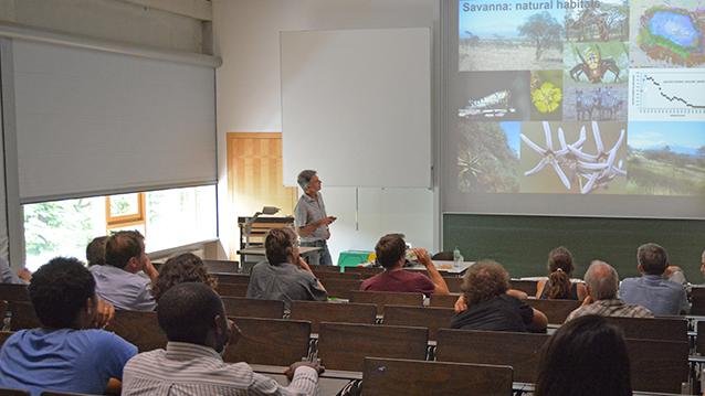 PD Dr. Andreas Hemp (Bayreuth University) presents at Nexus Seminar No. 13