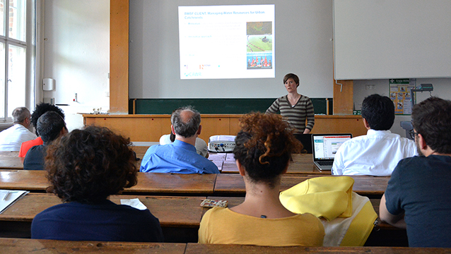 Dr. Mareike Braeckevelt (Center for Advanced Water Research) presents at Nexus Seminar No. 20