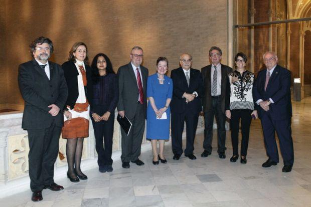 Disputatio 2014: Speakers with the Organising Committee