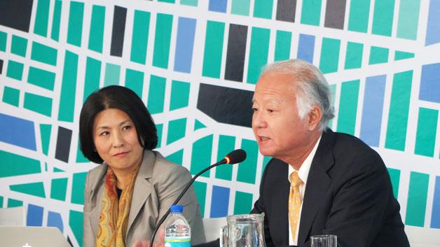 Kazuhiko Takeuchi speaks at HABITAT III in Quito