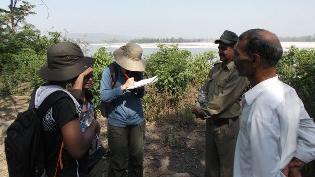 MSc fieldwork in India