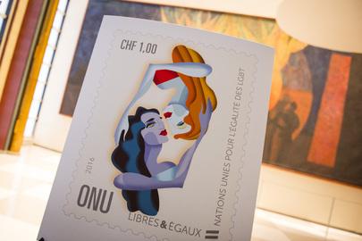 LGBT UN Stamp