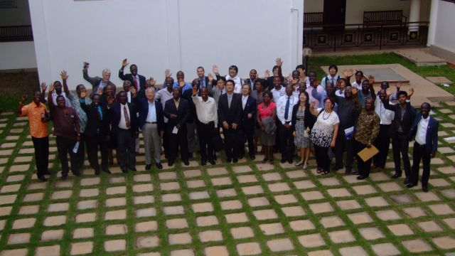 JCC members, official project advisors and representatives of the participating research institutions