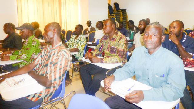Cross-section of the participants