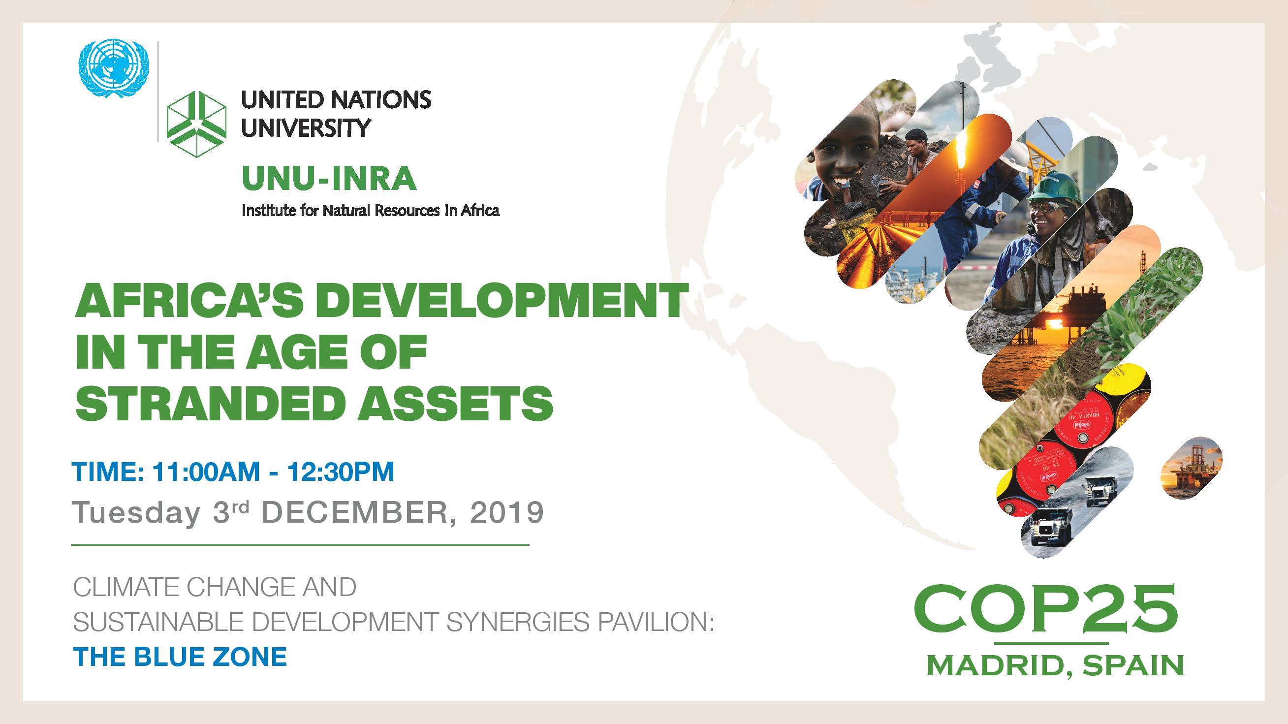 COP 25 – Stranded Asset (Flyer 3 Dec 2019)