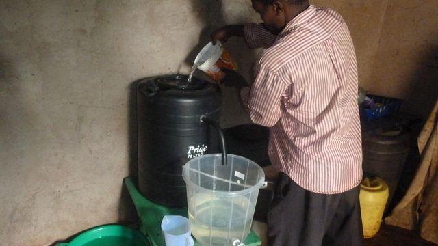 Biosand Filter. Credit: Aqua Clara International
