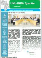 UNU-INRA Newsletter- 1st Quarter-2016