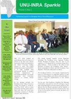 UNU-INRA Newsletter- 2nd Quarter 2016-1