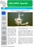 Cover Page-UNU-INRA Newsletter- 4th Quarter 2017