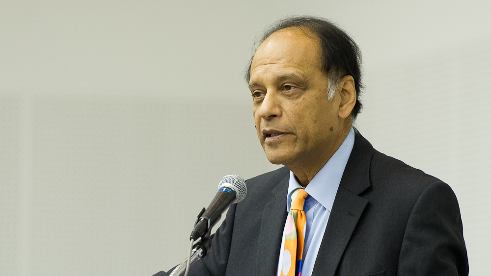 Prof. Partha Dasguputa, University of Cambridge. Photo: Stephan Schmidt/UNU
