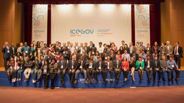 ICEGOV2013 group photo