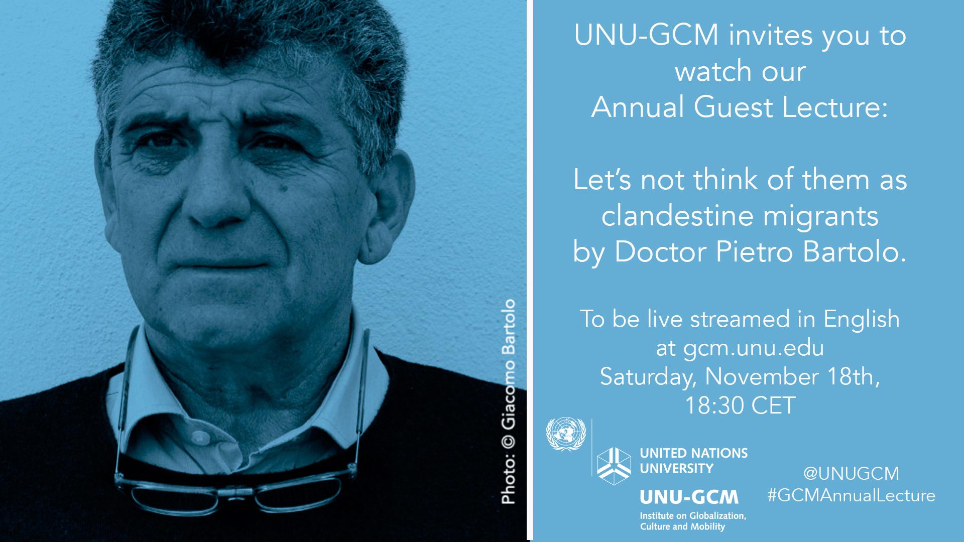 UNU-GCM Lecture