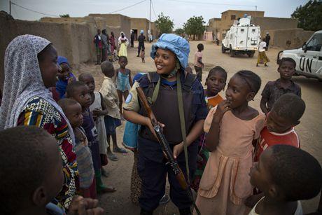 MINUSMA Patrol in Mali