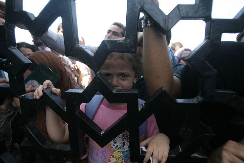 Rafah Border Crossing in southern Gaza
