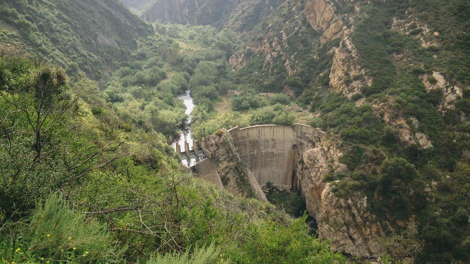 Malibu Canyon and Rindge Dam