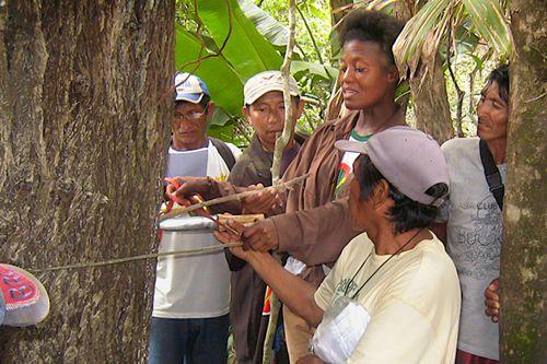 Kye Epps teaches Wapichana