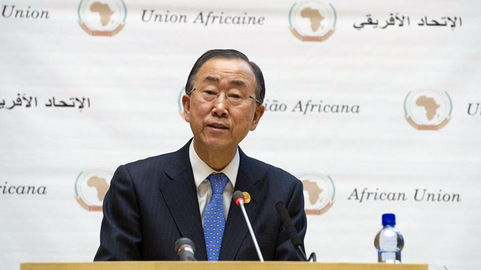 African Countries Backbone of UN Ban Tells Summit