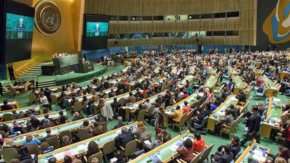 Adopting Political Declaration UN Urges Gender Equality by 2030