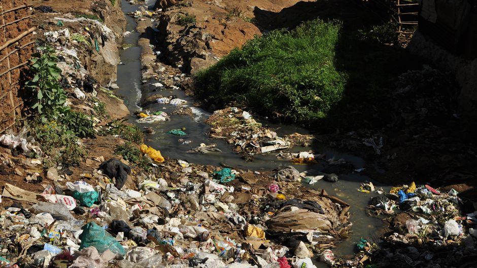 Kibera trash