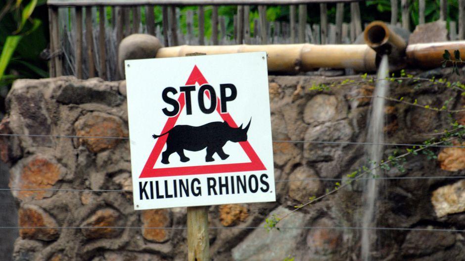 Kruger Park sign