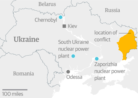 Nuclear power and conflict in Ukraine