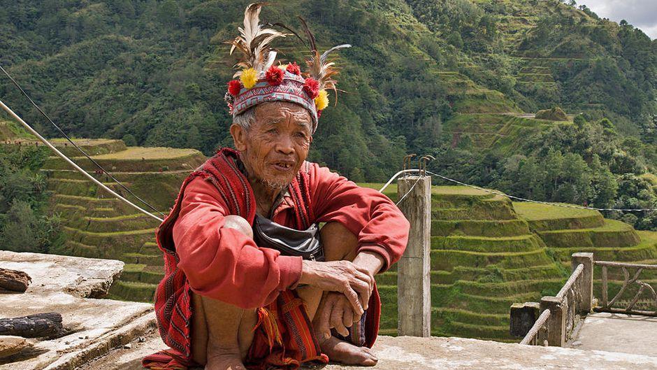 Banaue Philippines Ifugao Tribesman