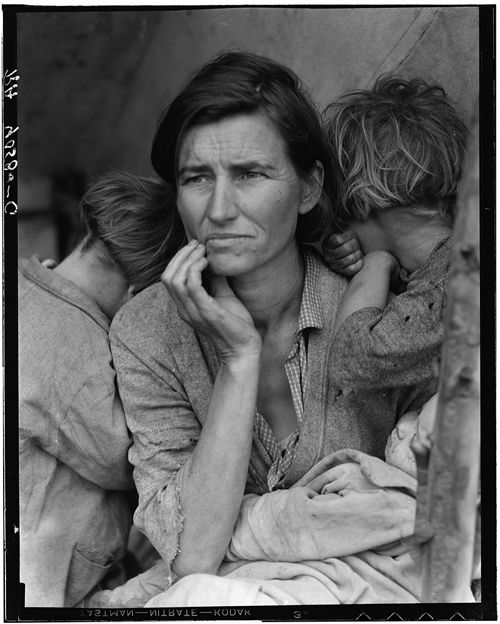 Migrant Mother-Florence_Owens_Thompson