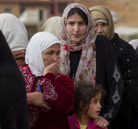Women at Lebanese camp