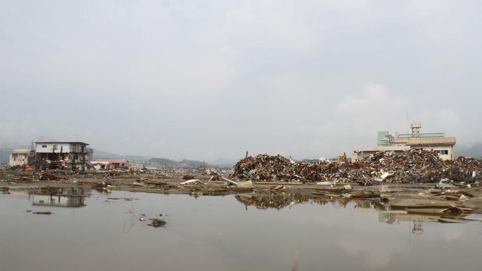 Tsunami devastation