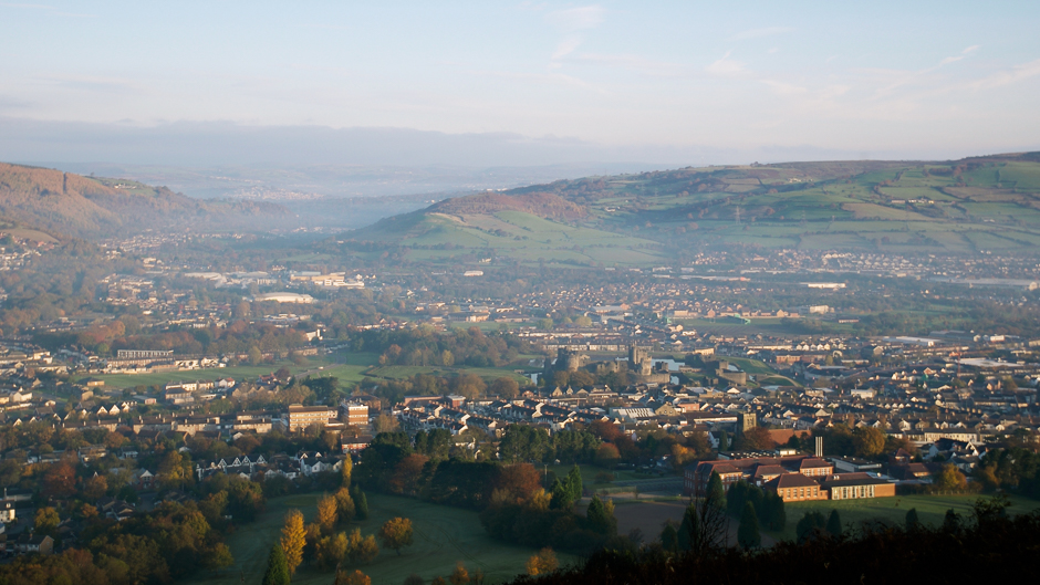 """Caerphilly County Borough is dedicated to enabling its citizens to """"live longer, healthier, more fulfilled lives"""". Photo: Stuart Herbert. Creative Commons BY 2.0 (cropped)."""