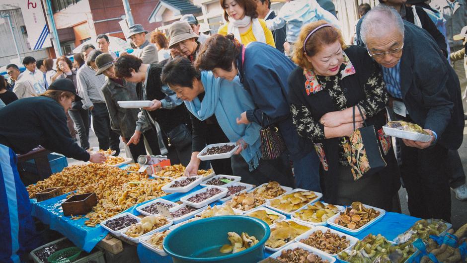 Gojome Morning Market