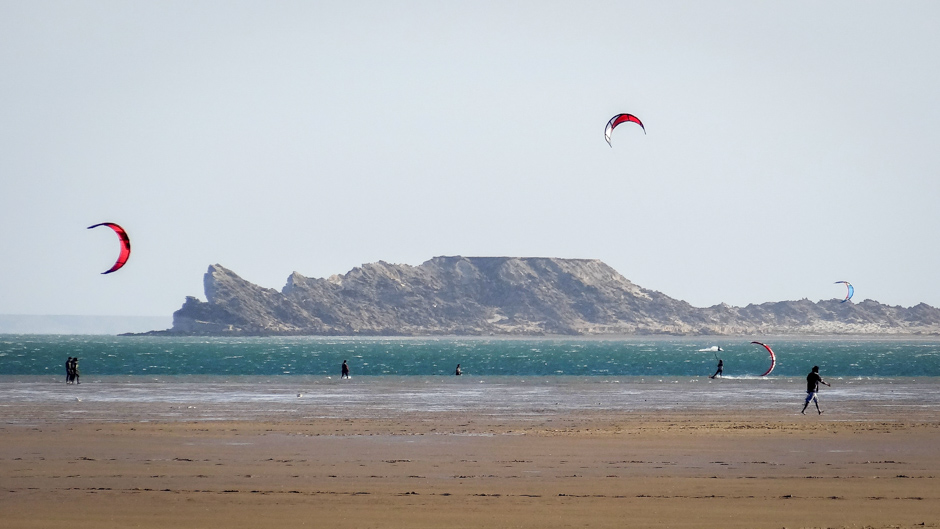 Western Sahara's coastal strip is one of the region's windiest areas with a wind load factor of around 46%. Photo: Groundhopping Merseburg, Creative Commons BY-NC 2.0
