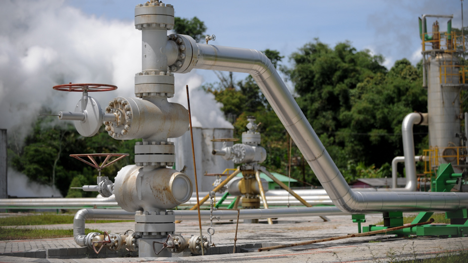 Lahendong Geothermal Power Plant, Manado, Indonesia