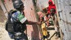 AU Police on Patrol in Mogadishu