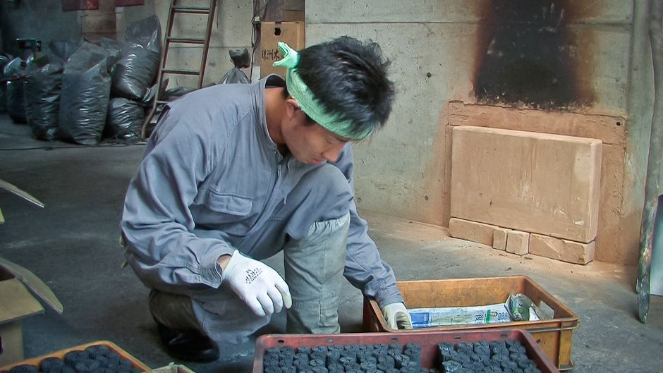 Japan's charcoal making traditions still alive