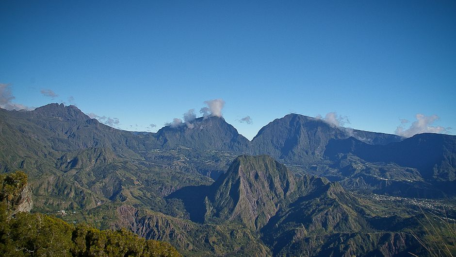 Close Cirque de Salazie, Reunion Island. Photo by Simon Bonaventure.