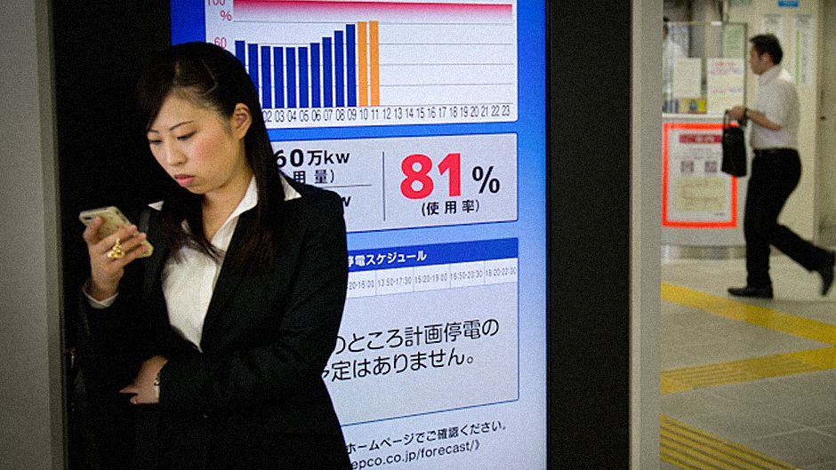What's the electricity forecast for Tokyo today?