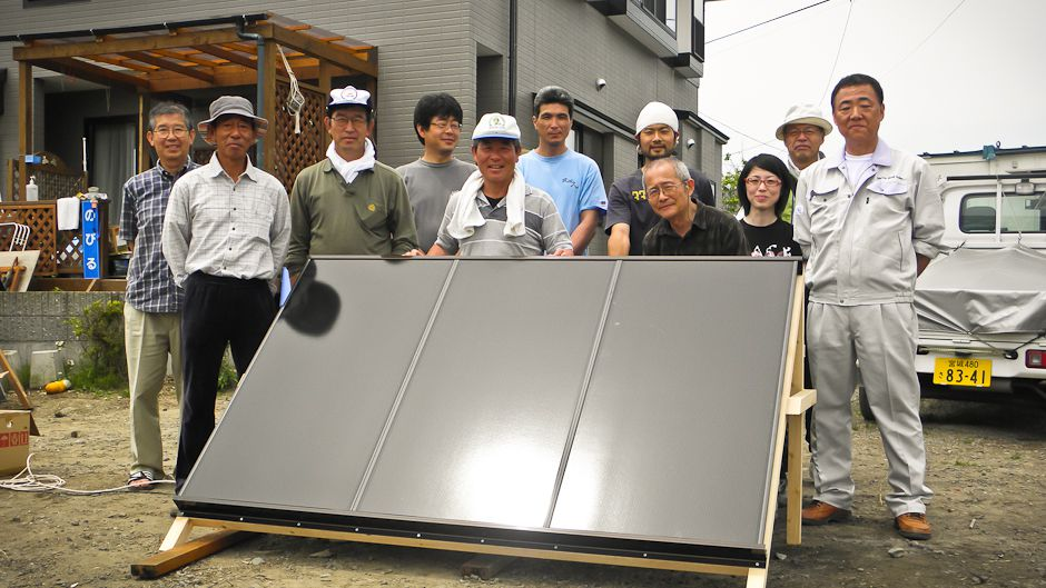 Unity and warmth for Japan's tsunami survivors