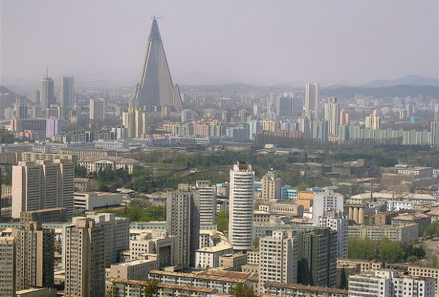 Pyongyang. Photo by Bryan Hughes.