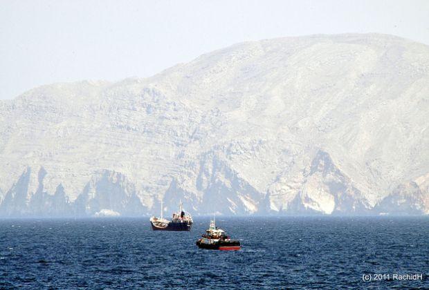 The Strait of Hormuz. Photo: Rachid H.