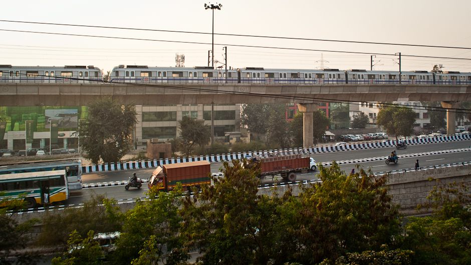 Mind the gap: Development options for Delhi's metro