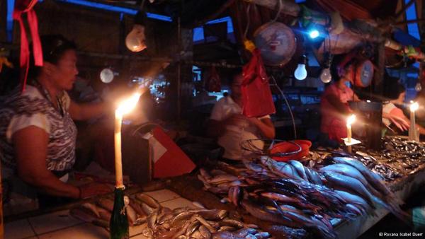 coron fish market