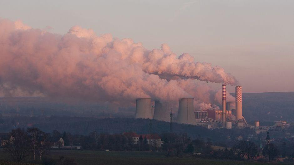 Turów power plant in Poland.