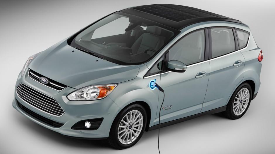 Ford Debuts Solar Car, Ford C-MAX Solar Energi Concept.