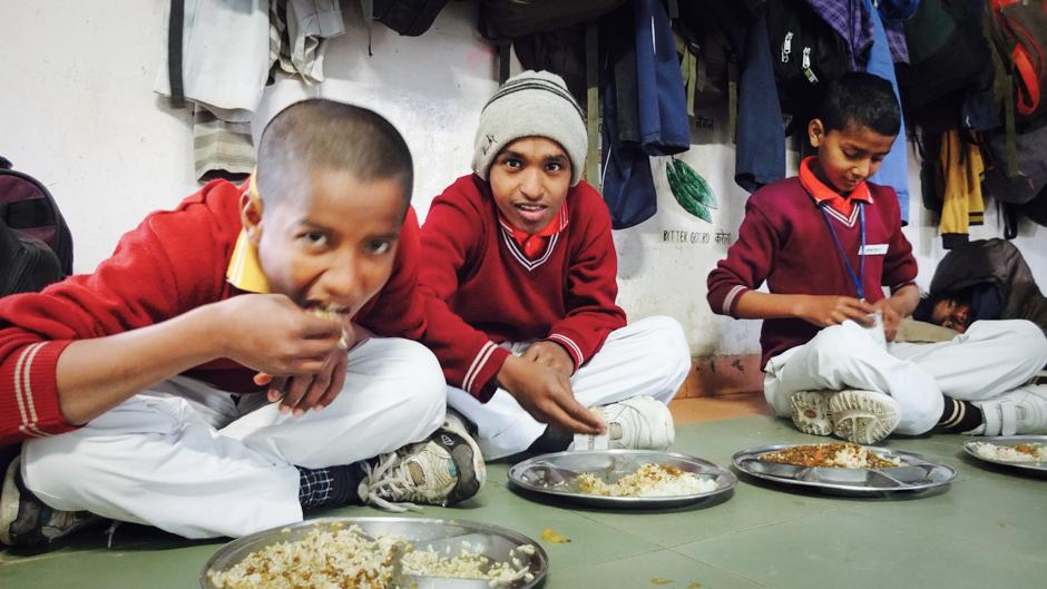 Residents of the Ummeed Sneh Ghar. Photo © Anita Cohen Michalkiewicz.